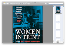 Women In Print (Book)